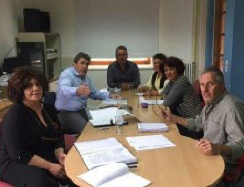 Συνάντηση Νίκου Ηγουμενίδη με τους εκπροσώπους του Κέντρου Κοινωνικής Πρόνοιας Περιφέρειας Κρήτης