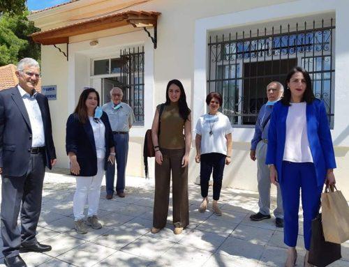 ΔΕΛΤΙΟ ΤΥΠΟΥ Επίσκεψη Υφυπουργού Εργασίας και Κοινωνικών Υποθέσεων